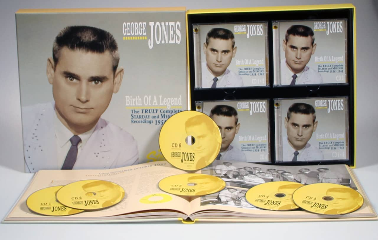 George Jones - Birth Of A Legend - The Truly Complete Starday And Mercury Recordings 1954-1961 (6-CD)