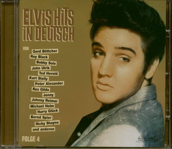 Elvis Hits in Deutsch Folge 4 (CD)