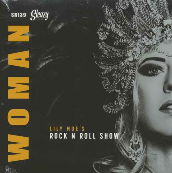 Woman - Somewhere Down The Line (7inch, 45rpm, PS, BC)