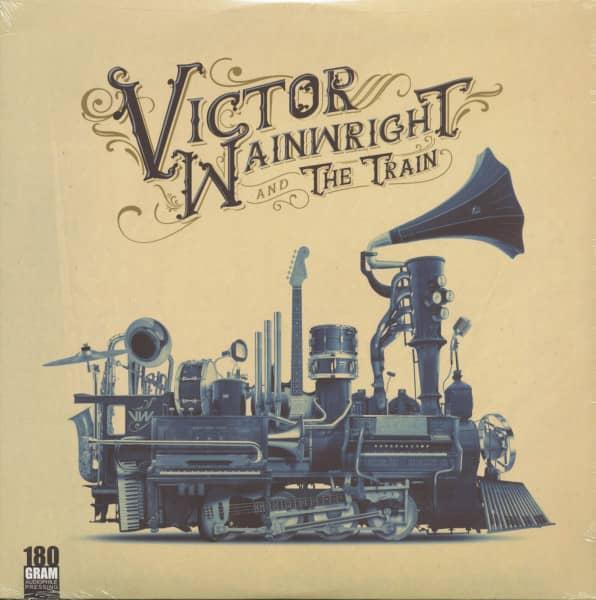 Victor Wainwright And The Train (LP, 180g Vinyl)