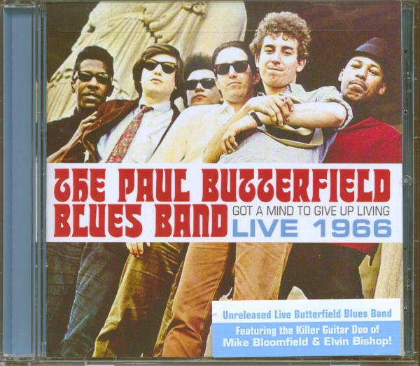 The Paul Butterfield Blues Band Live 1966 (CD)