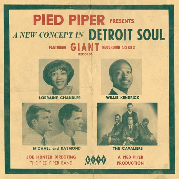 Pied Piper Presents A New Concept In Detroit Soul (CD)