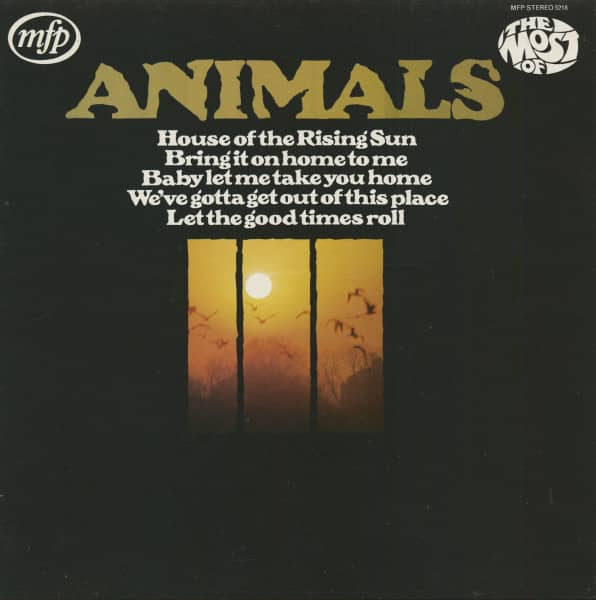 The Most Of The Animals - Stereo (LP)