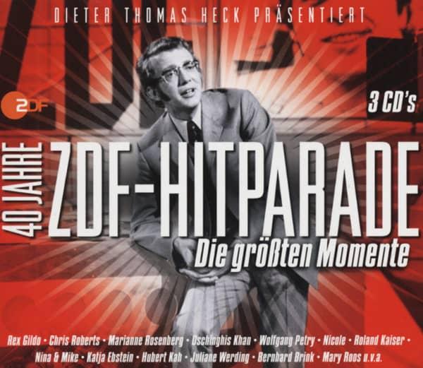 40 Jahre ZDF-Hitparade 3-CD