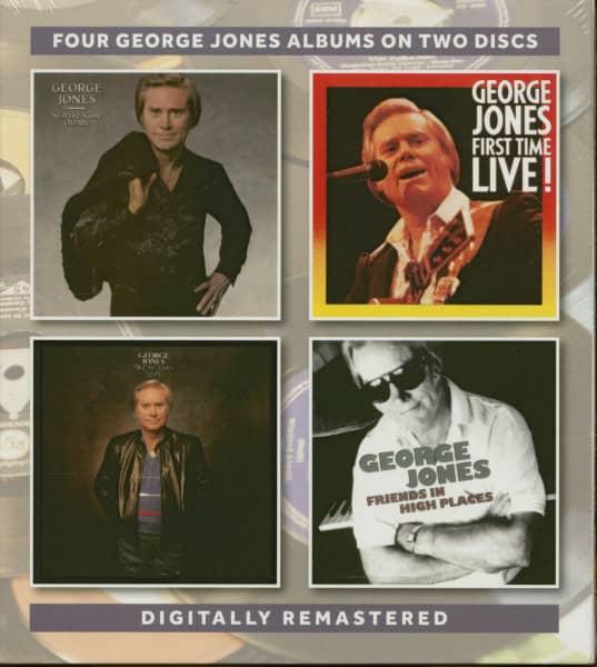 Four George Jones Albums (2-CD)