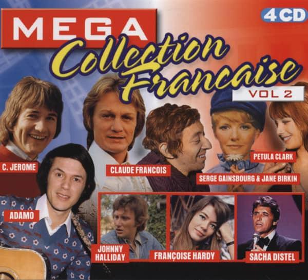 Vol.2, Mega Collection Francaise 4-CD