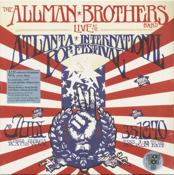 Live At The Atlanta International Pop Festival 1970 (4-LP, Deluxe Record Store Day Edition, Ltd. & N