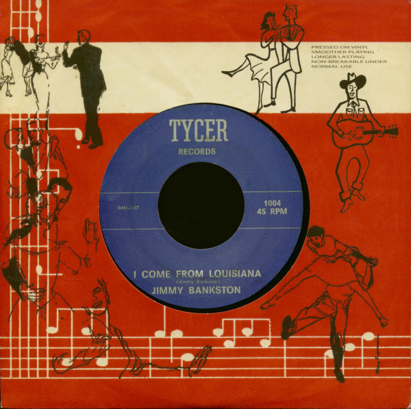 I Come From Louisiana - Blue Eyes Cryin In The Rain (7inch, 45rpm)