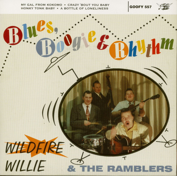 Blues, Boogie & Rhythm (7inch, EP, 45rpm, PS, BC)