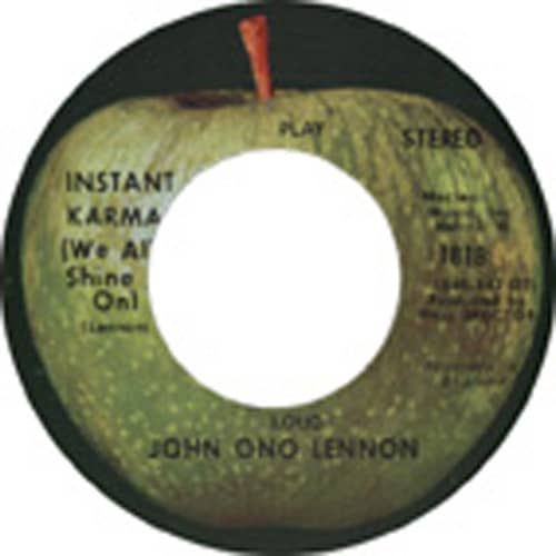 Instant Karma - Who Has Seen The Wind 7inch, 45rpm, CS