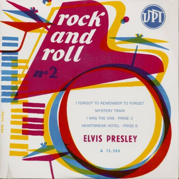 Rock And Roll No.2 - La Batterie (7inch, EP, 45rpm, PS, Ltd, SC)