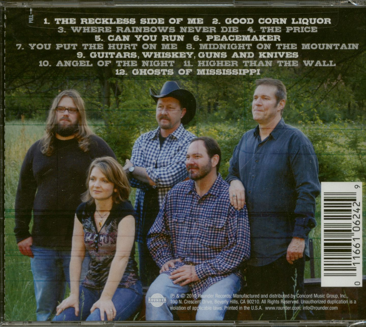 Steeldrivers Cd Reckless Cd Bear Family Records