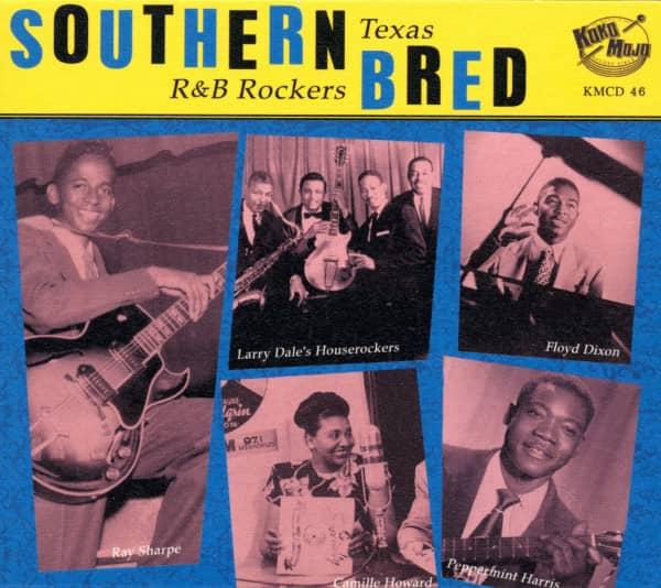 Southern Bred Vol.8 - Texas R&B Rockers - That'll Get It (CD)