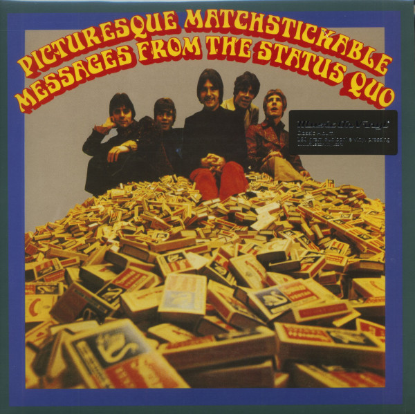 Picturesque Matchstickable Messages From The Status Quo (LP, 180g Vinyl)