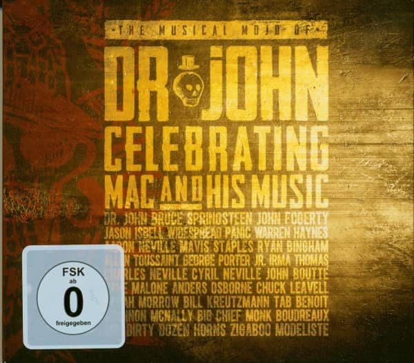 The Musical Mojo Of Dr. John: Celebrating Mac And His Music (2-CD, 1 DVD)