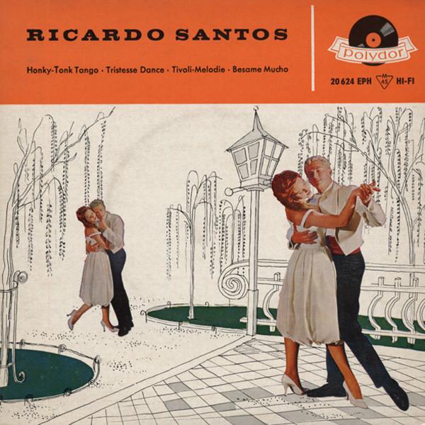 Honky Tonk Tango 7inch, 45rpm, EP, PS 1958