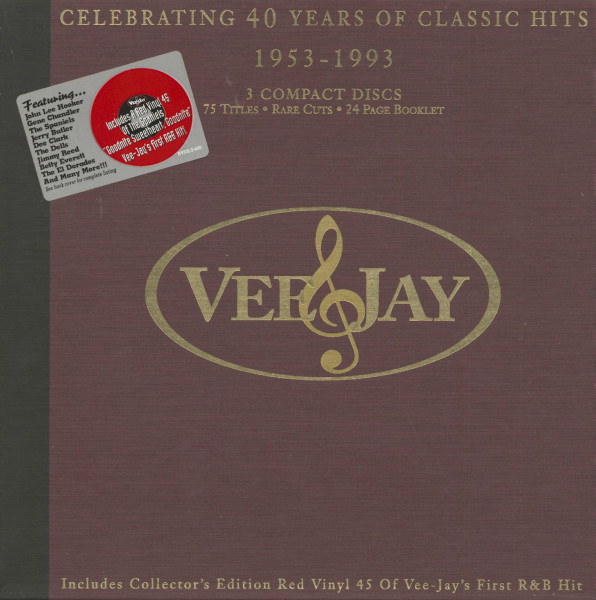 Vee Jay - 40 Years Of Classic Hits (3-CD)