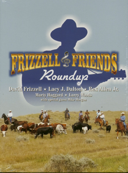 Frizzell & Friends - Roundup (2-CD&DVD)