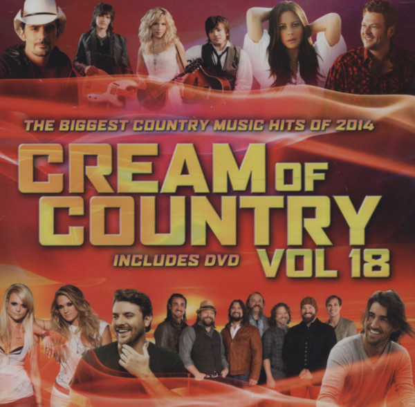 The Cream Of Country, Vol.18 (CD & DVD)