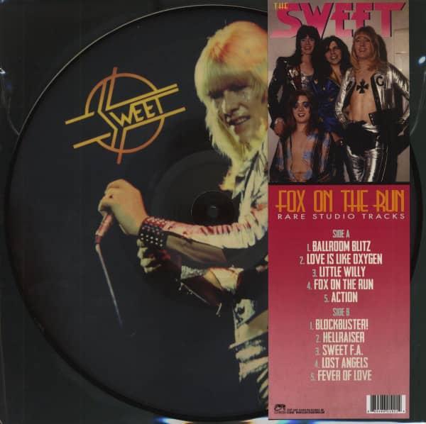 Fox On The Run - Rare Studio Tracks (LP, Picture Disc)