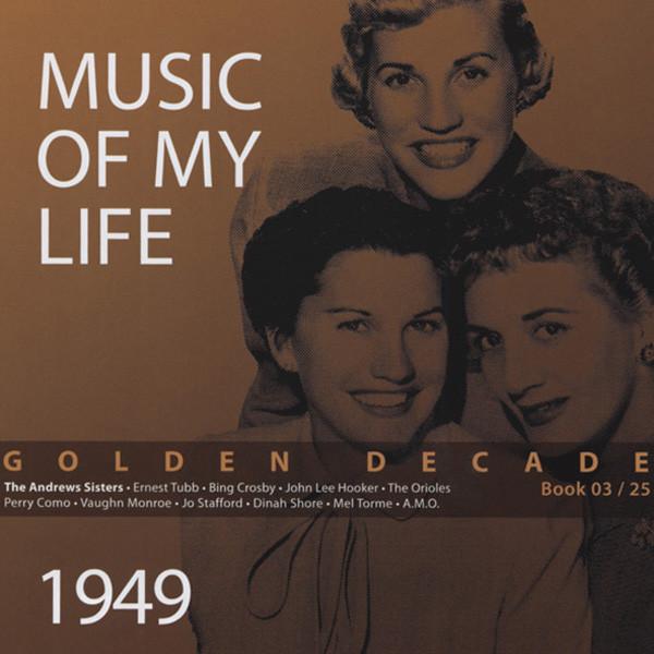 1949 Golden Decade (Book & 4-CD) #3-25