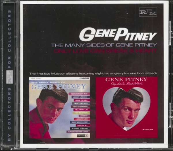 The Many Sides Of Gene Pitney - Only Love Can Break A Heart (CD)