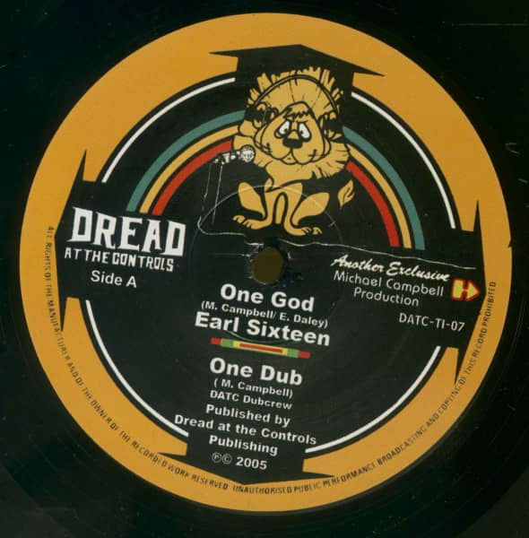 One God - African Tribesmen / Earl Sixteen & DATC Dubcrew (10inch, 45rpm)