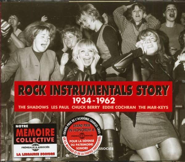 Rock Instrumentals Story 1934-1962 (3-CD)