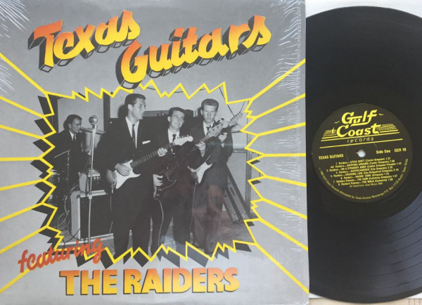 Texas Guitars Featuring The Raiders (LP)