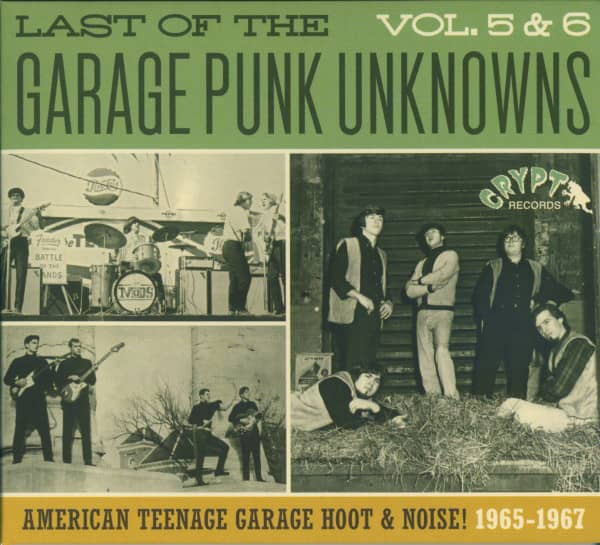 Last Of The Garage Punk Unknowns Vol.5 & 6 (CD)