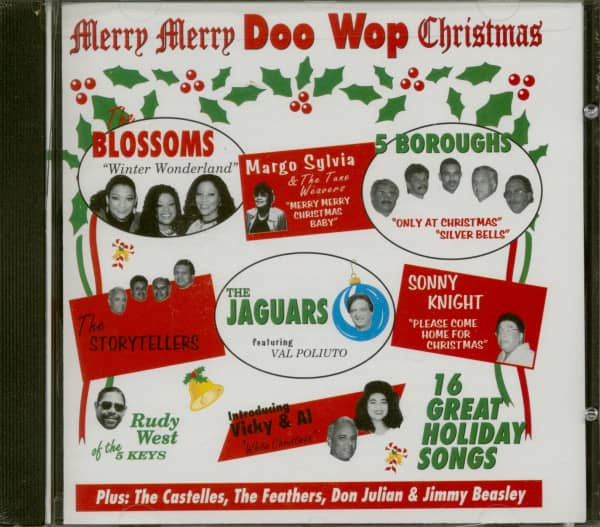 Merry Doo Wop Christmas - Cut Out