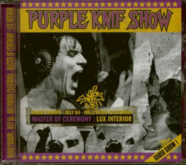 Purple Knif Show - Radio Show (CD)