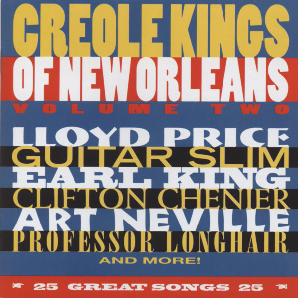 Vol.2, Creole Kings Of New Orleans