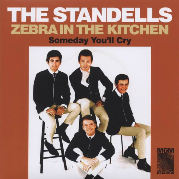 Zebra in the Kitchen b-w Someday You'll Cry 7inch, 45rpm, PS