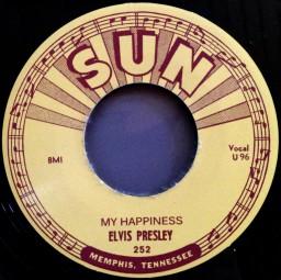 My Happiness b-w My Baby's Gone - 7inch, 45rpm (SUN 252)