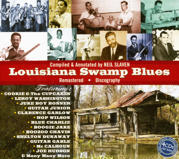Louisiana Swamp Blues (4-CD)