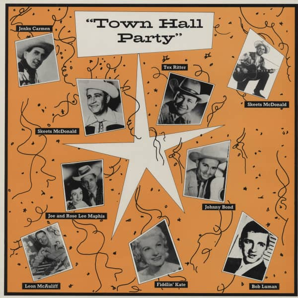 At Town Hall Party 1959-1960