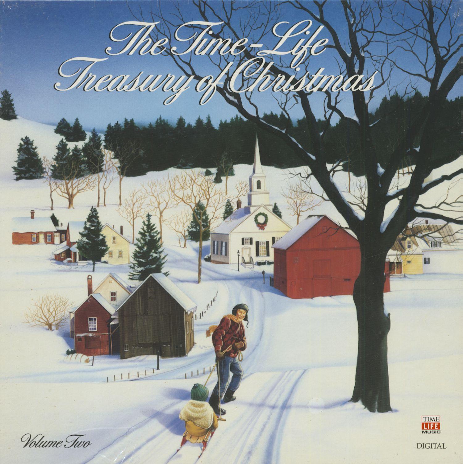 Various Lp The Time Life Treasury Of Christmas Vol 2 3