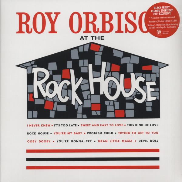 Roy Orbison At The Rockhouse (LP, Ltd.)