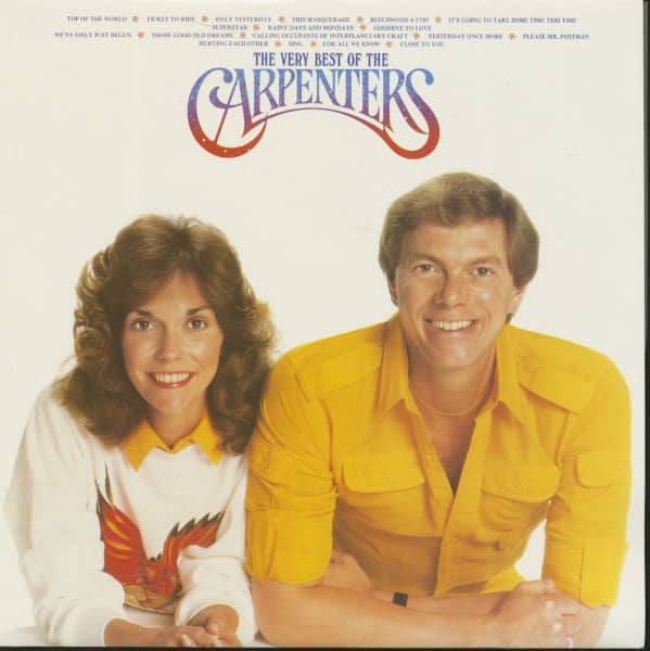 The Very Best Of The Carpenters (LP)