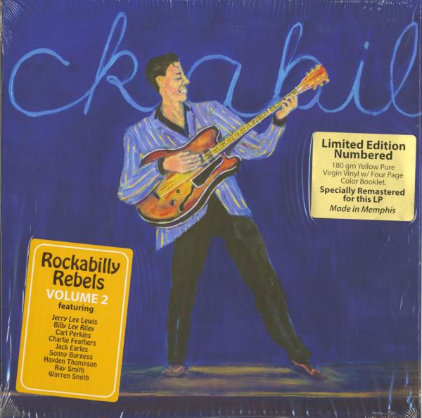 Rockabilly Rebels Vol.2 (LP, 180g, Ltd.)