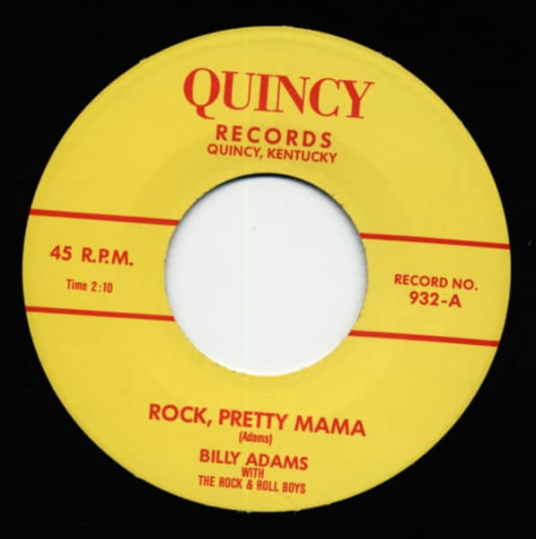 Rock Pretty Mama - You Gotta Have A Ducktail (7inch, 45rpm)