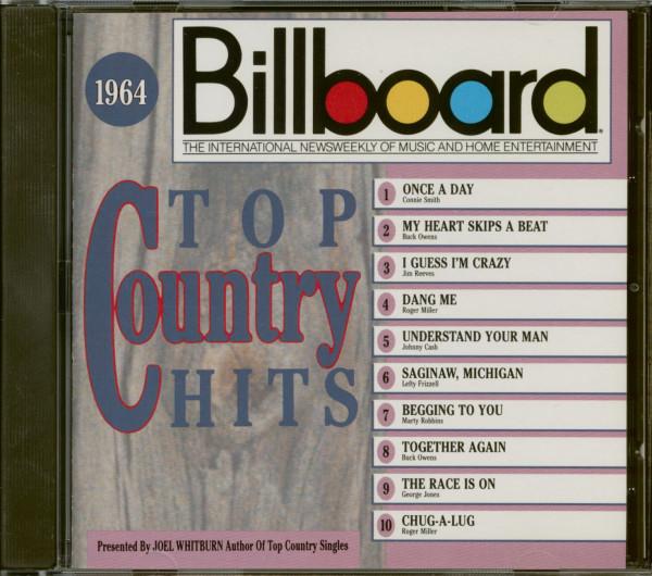 Billboard Top Country Hits 1964 (CD)