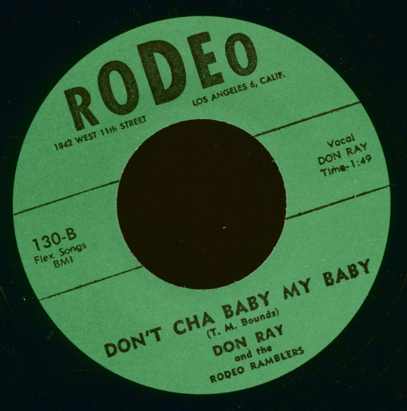 Imogene - Don't Cha Baby My Baby (7inch, 45rpm)