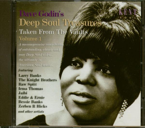 Dave Godin's Deep Soul Treasures Vol.1 (CD)