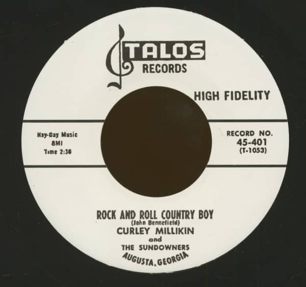 Rock And Roll Country Boy - Why Did I Have To Fall In Love (7inch, 45rpm)