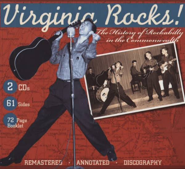 Virginia Rocks! Rockabilly In The Commonwealth (2-CD)