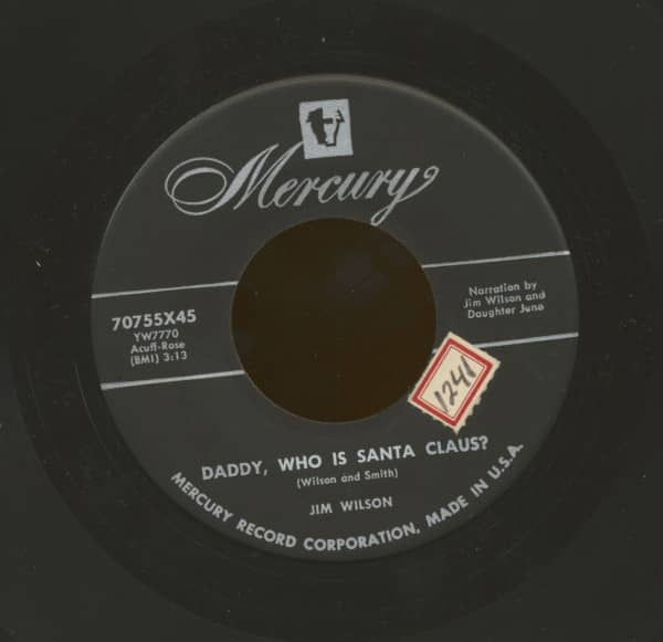 Daddy, Who Is Santa Claus - Round, Round The Christmas Tree (7inch, 45rpm)