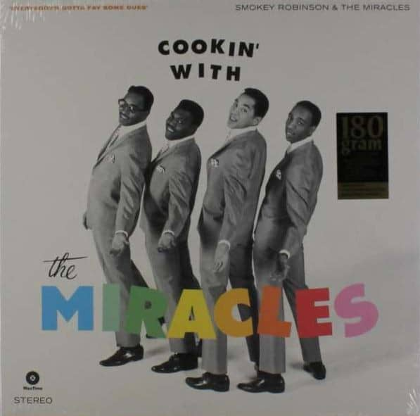 Cookin' With The Miracles (LP, 180g Vinyl, Ltd.)