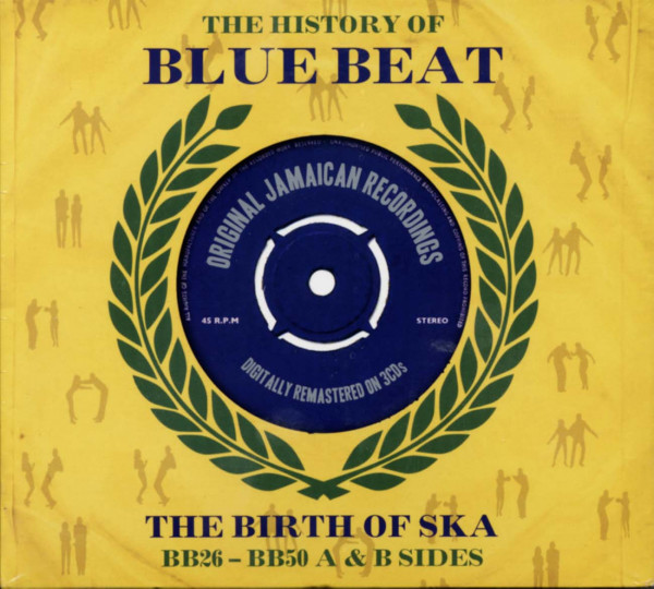 The History Of Blue Beat - The Birth Of Ska Vol.1 BB26-BB50 (3-CD)